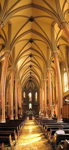 Igreja Basílica Imaculada Conceição Botafogo Rio de Janeiro luz natural panorâmica