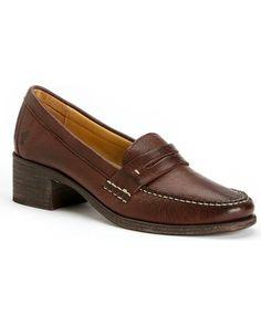 Amazon.com: Frye Women's Otis Mid Penny Loafers Round Toe: Shoes