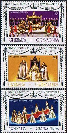 Grenada Grenadines 1977 Royal Visit