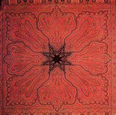 Woven shawl, Russia, mid 19th c.