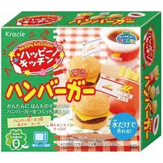 Popin Cookin Happy Kitchen DIY Hamburger Kit
