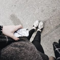 Monochrome Style by @emmareynaert Thanks!   #madotta #marble #iphonecase #marblecase #whitemarble