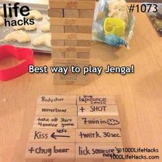 1000 Life Hacks with silly things