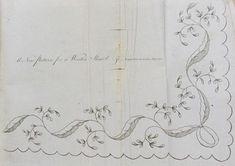 Patterns - 1796 Embroidery Patterns - Lady's Magazine - University of Kent