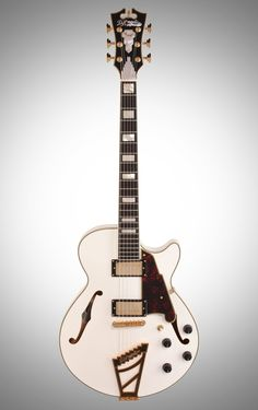 D'Angelico EXSS Semi-Hollow Electric Guitar, Natural