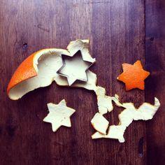 Activité du mercredi. Faire des décorations de Noël avec des peaux d'oranges // çarsamba günü aktivitesi portakal kabuklarindan Noël süsü yapmak