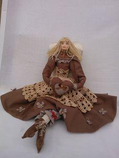Kontakt/Contact: mail: danutaewa13@o2.pl Rękodzieło artystyczne anioły Angels lalki szmaciane lniane z materiałów naturalnych vintage szyte ręcznie