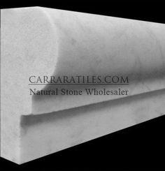 Marble Floor, Carrara Marble, Tile Floor, Moulding Profiles, Italian Marble, Commercial Flooring, Floor Colors, Shower Floor, Outdoor Walls