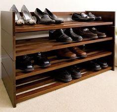 Wooden Shoe Rack · Closet Shoe StorageCloset ...