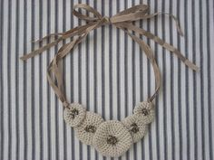 Marlene Brady: Free Crocheted Necklace Tutorial