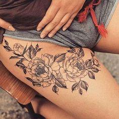 Flower tattoos are cute AF ❤️ #inkspiretattoos
