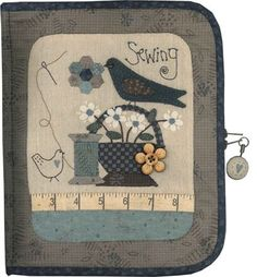 Sewing accessory case small
