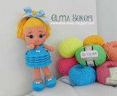 Elma Şekeri El Sanatları Atölyesi: Yarn Art Jeans / Amigurumi Bebek ☆