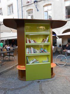 Comme un arbre (à livres) dans la ville : Nancy recrute des artistes