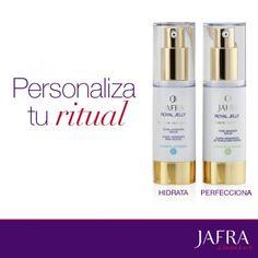 Combina los sueros para satisfacer las necesidades de tu piel.  http://jafra.me/394v