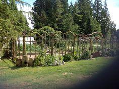 Deer Proof Ve able Garden Ideas With Wire Netting And Fresh 32 Deer Resistant Garden Design Deer Garden, Diy Garden Fence, Garden Art, Garden Landscaping, Glass Garden, Diy Gardening, Deer Resistant Garden, Unique Garden, Deer Fence