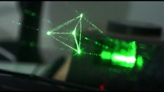 World's first desktop holographic display. It draws objects in air with light.