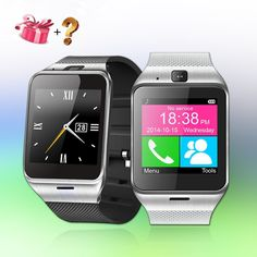 2016 New Smartwatch Bluetooth Smart Watch For Apple iPhone & Samsung Android Phone Relogio Inteligente Smartphone Watch - Smartwatch Waterproof, Smartwatch Bluetooth, Android Clock, Android Watch, Smart Watch Price, Apple Iphone, Musik Player, Mp3 Player, Samsung Android Phones