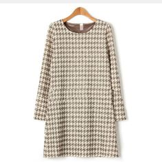 Cheap clothes babies, Buy Quality clothes agency directly from China clothes coupon Suppliers: White A Line Dress, Dress Patterns, Pattern Dress, Plaid Fashion, Dress Silhouette, European Fashion, Plus Size Dresses, Plus Size Women, Clothes For Women
