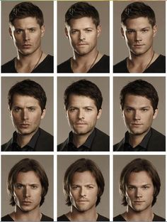 Dean's hair equals more hotness for everyone!!! Everyone else's hair on Dean equals...errrr no thanks!