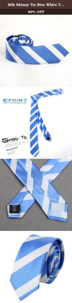 Silk Skinny Tie Blue White Thin Skinny for Men Necktie with Gift Box PS1006 148cm*7cm blue white. Headquartered in Sydney, Australia, FashionOn is a multichannel online retailer and wholesaler with huge range that has a strong focus on fashionable men's and women's accessories, including ties, bow ties, cufflinks, vest sets, hankies, suspenders, cummerbunds, money clips, necklaces and bracelets. FashionOn has a philosophy of continuous service improvement, which is supported by a…