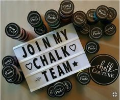 Create with Tree that's Me - Join my team! We have lots of fun! Chalk Couture home decor business Ice Chalk, Chalk Ink, Chalk It Up, Chalk Crafts, Diy Crafts, Chalk Design, Chalkboard Designs, Handmade Art, Decoration