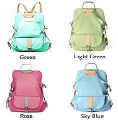 Unique Fresh Multifunction Backpack & Handbag & Shoulder Bag