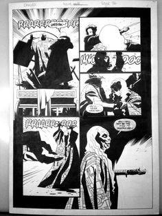 Dracula issue 4 page 26 Comic Art