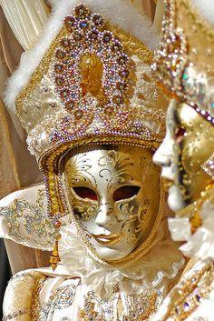 Beautiful Golden Masks