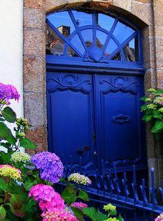 cobalt door entrance.