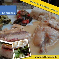 Dica deliciosa de onde comer na cidade de Grenoble França! Delicious tip where to eat at Grenoble-France http://www.snackinbox.com.br/le-cularo-dicas-de-grenoble-franca/
