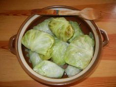 Czech Recipes, Russian Recipes, Lettuce, Cabbage, Vegetables, Cooking, Czech Food, Polish, Kitchen