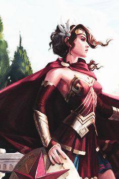 Infinite Crisis || Wonder Woman Comic Book Characters, Comic Books Art, Female Characters, Comic Art, Wonder Woman Art, Wonder Woman Comic, Gal Gadot, Arte Dc Comics, Dc Memes