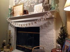 cheers y'all: DIY Christmas Banner [for under $5]