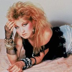 "Cindy Lauper, ""Girls just wanna have fun"""