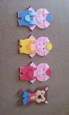 Kids Crafts, Animal Crafts For Kids, Book Crafts, Preschool Crafts, Felt Crafts, Art For Kids, Finger Puppet Patterns, Felt Board Stories, Felt Bookmark