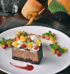 #Bali. This so crazy-delicious Hazelnut Cooklat Mousse at @DesaVisesa #Ubud