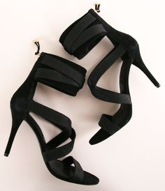 balmain heels - lbs (little black shoes, not the best acronym :-)