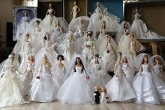 Wedding Barbies by lemiyang from personal collection | Barbie Collector
