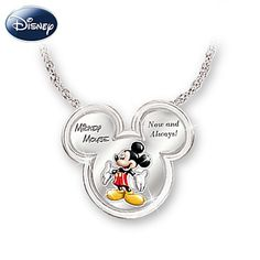 Mickey Now And Always Pendant Necklace  <3 <3 <3
