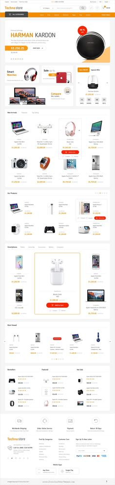 Techno store is clean and modern design #Photoshop template for #webdesign stunning #eCommerce website with 10+ homepage layouts and 50+ layered PSD files download now > https://themeforest.net/item/techno-store-electronic-ecommerce-psd-template/19910482?ref=Datasata