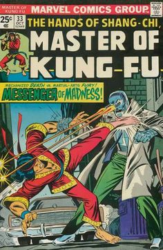 THE HANDS OF SHANG-CHI MASTER OF KUNG FU 33 BRONZE AGE MARVEL COMICS