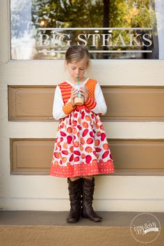 Pumpkin Spice Tallulah @izzynivydesigns #tallulahdress