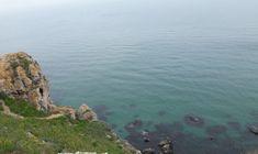Marea Neagra este albastra la Capul Kaliakra