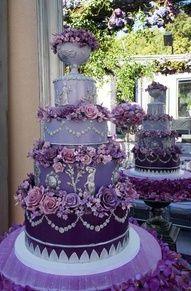 lavendar this cake is exquisite.