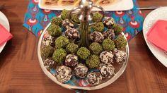 Çay Saatine Çikolatalı Toplar Truff   Nursel'in Mutfağı Yemek Tarifleri