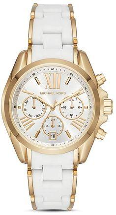 61bf8211c Michael Kors Bradshaw Watch, 40mm x 45mm Silicone Bracelets, Watch Case, Michael  Kors