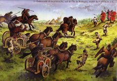 Hoping to keep Caesar in Britain over the winter and thus starve him into submission, the Britons renewed the attack, ambushing one of the legions as it foraged near the Roman camp. The foraging party was relieved by the remainder of the Roman force and the Britons were again driven off.