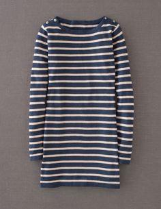 Boden Women's Brand New Stripy Jumper List Price $98 Navy Stripe | eBay