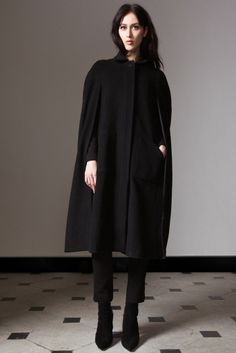I could see Kate wearing this cape (not the trousers, never the trousers!) from next fall's Alice by Temperley collection (technically the 2014 Pre-Fall collection)